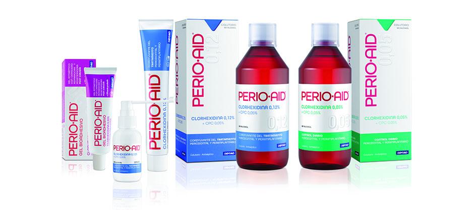 Perio·Aid<sup>®</sup> más que una clorhexidina