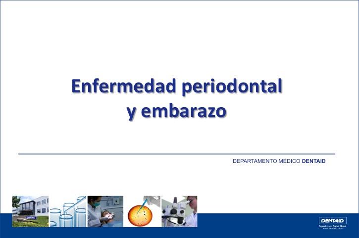 Enfermedad periodontal y embarazo